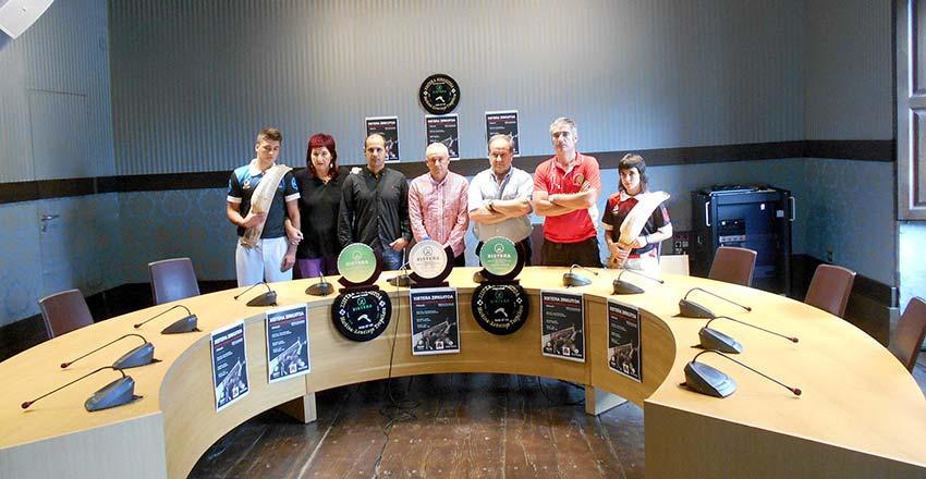 Presentación de las finales del Campeonato de Markina-Xemein