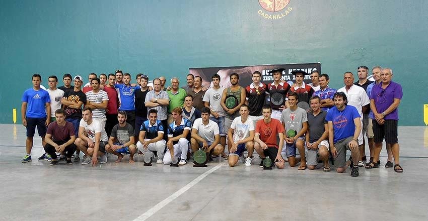 Premiados en el Campeonato de Cabanillas